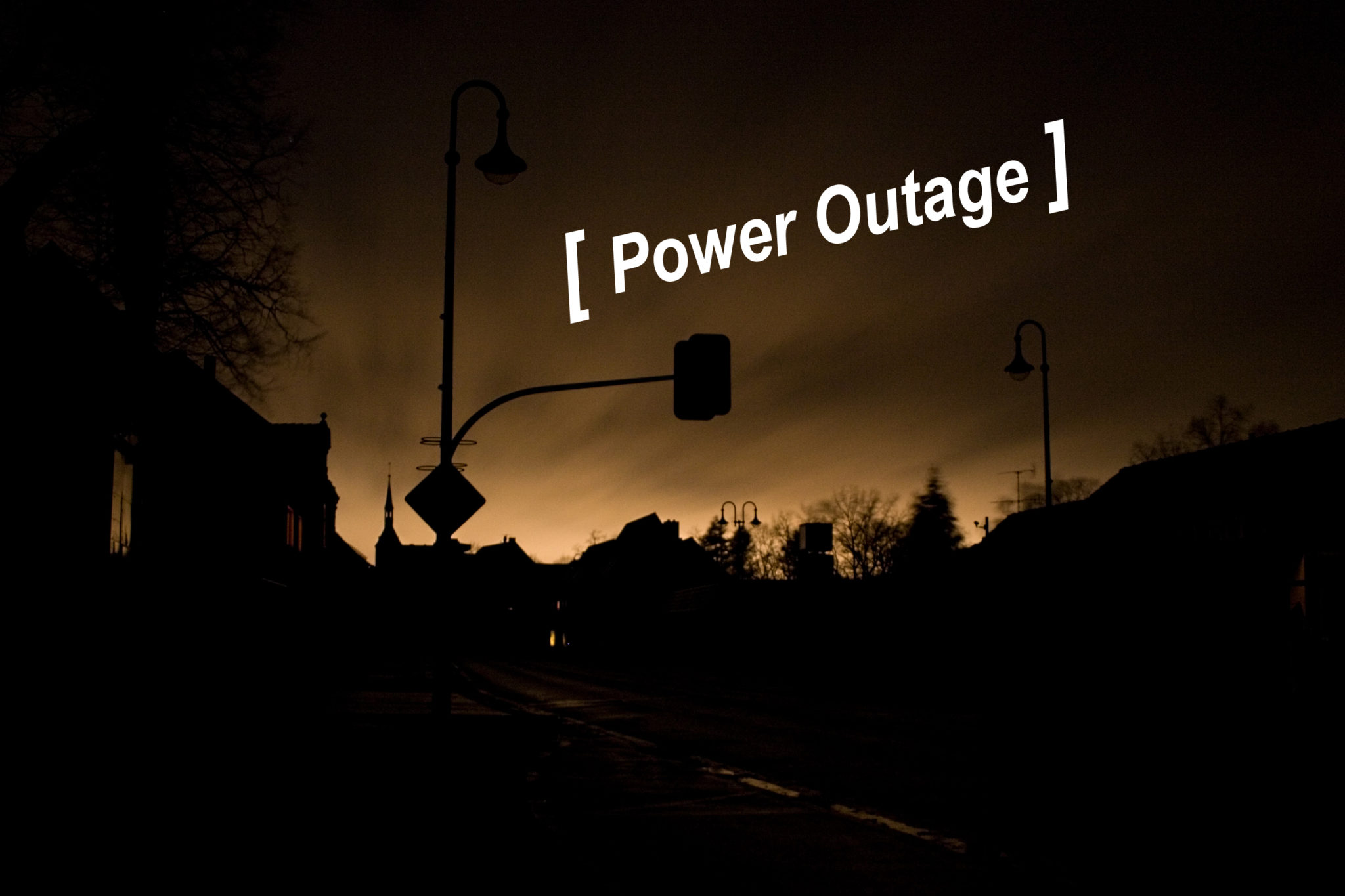 How to Handle a Power Outage