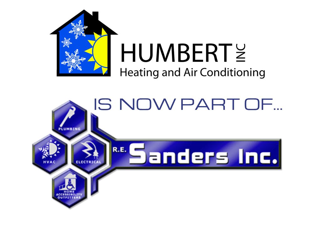 Humbert Heating And Air Conditioning Is Now Part Of Re Sanders Inc